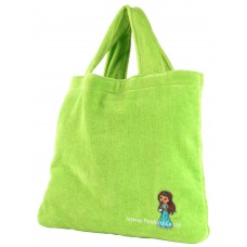 Foldable Hand carried Bath Towel Bag (Green)