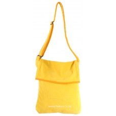 Beach Towel Bag Sidebag Design (Yellow)