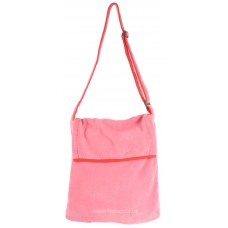 Beach Towel Bag Sidebag Design (Pink)