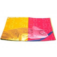 Heat Transfer Print Microfiber Suede Towel
