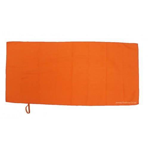 Microfiber Face Towel with hang loop (Orange)