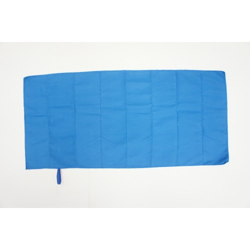 Microfiber Face Towel with hang loop (Blue)