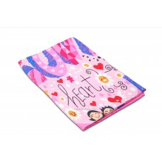 Heat Transfer Print Pattern Microfiber Towel