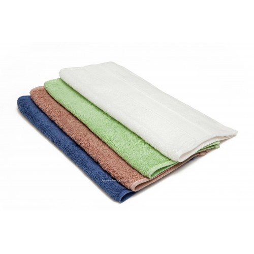 Jacquard Solid Multi-color Hand Towel