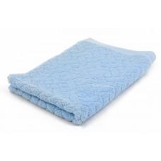Woven Jacquard Embossed Logo Hand Towel Face Towel