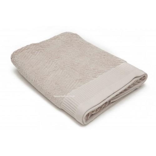 Woven Jacquard Pattern Strap Face Towel Hotel Towel