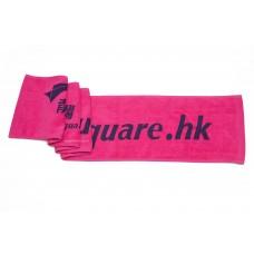 Reactive Print Logo Banner Towel Cotton Face Towel