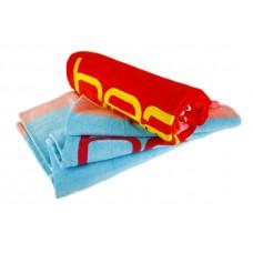 Reactive Print Logo Beach Towel