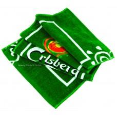 Reactive Print Logo Bar Towel