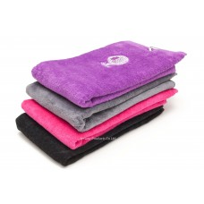 Solid Color Embroidery Logo Golf Towel