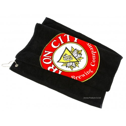 Reactive Printing Logo Promotional Golf Towel