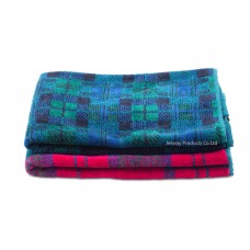 Jacquard Woven Scottish Grid Golf Towel