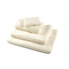 Embossed Logo Woven Jacquard Hotel Towel
