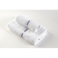 Lace Ribbon Hotel Towel Set with Weaving Border