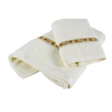 Ribbon Hotel Towel Set with Weaving Border
