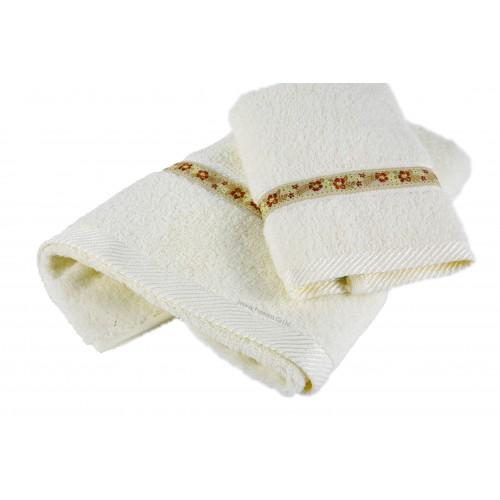 Ribbon Hotel Towel Set with Weaving Border