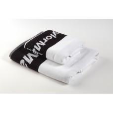 Woven Jacquard Logo Hotel Towel Set