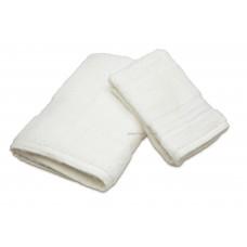 Jacquard Woven Pattern Border Hotel Towel